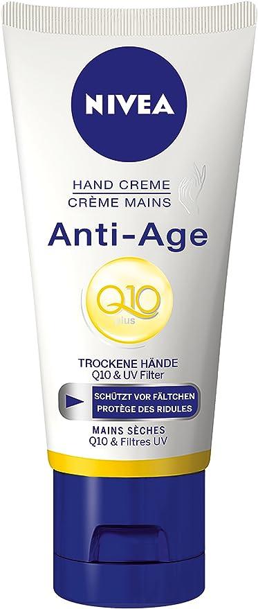 Nivea - Q10, crema de manos anti edad, pack de 6(6 x 100 ml ...