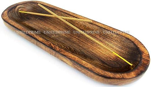 Nirvana Class Wooden Yarn Bowl Handmade Extra Large Sheesham Wood with Elegant Design Home D/écor