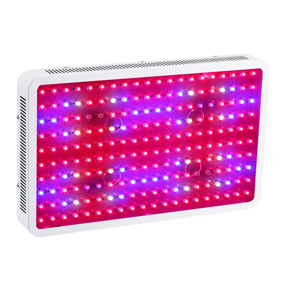TOPL 2000W Double Chip LED Grow Light, Full Spectrum with UV/IR Light Lamp, for Greenhouse Indoor Hydroponics Plant Growing Flowering