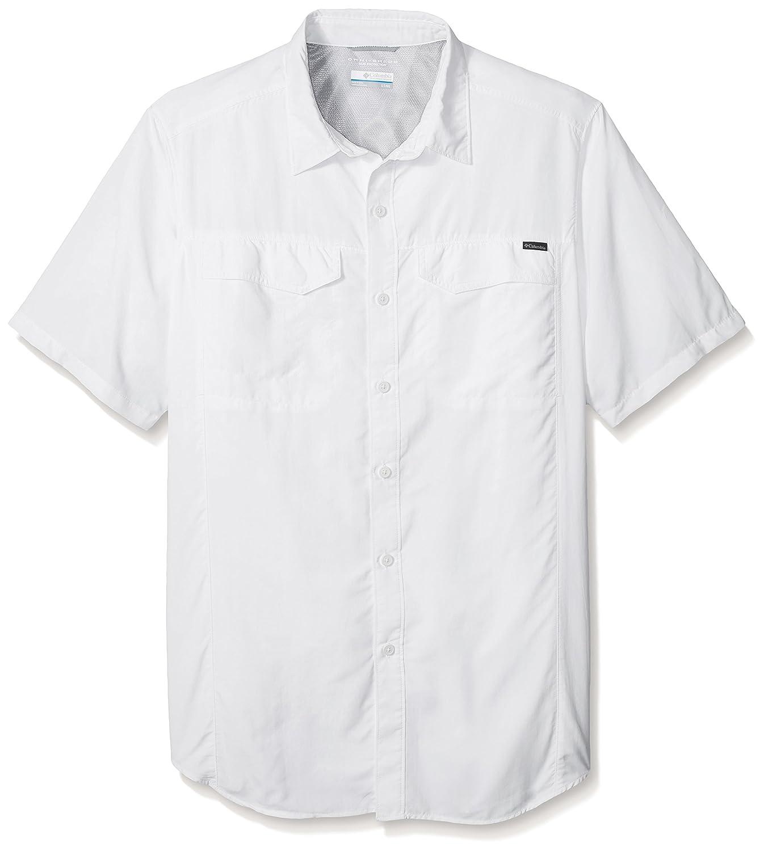TALLA OneSize/1X. Columbia Silver Ridge Short Sleeve Shirt - Camisa para Hombre