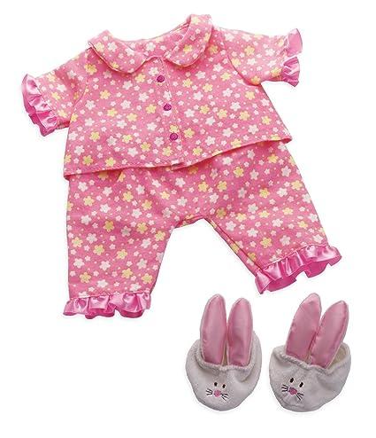 61baf0ddc Amazon.com  Manhattan Toy Baby Stella Goodnight Pajama Baby Doll Clothes  for 15