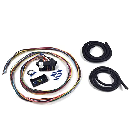 amazon com keep it clean wiring accessories kica33158 utility trailer wiring harness clean custom wiring harness #7