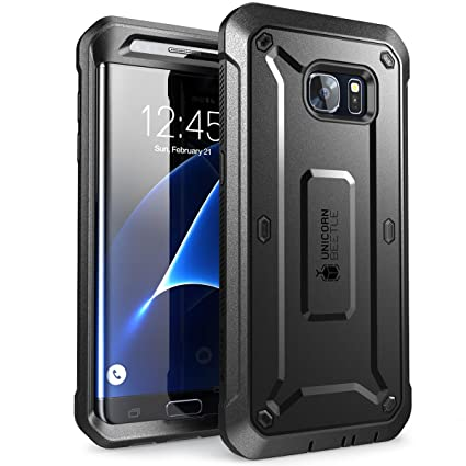 SUPCASE Unicorn Beetle Pro Series Case Designed for Galaxy S7 Edge, Full-Body Rugged Holster Case Without Built-in Screen Protector for Samsung Galaxy ...