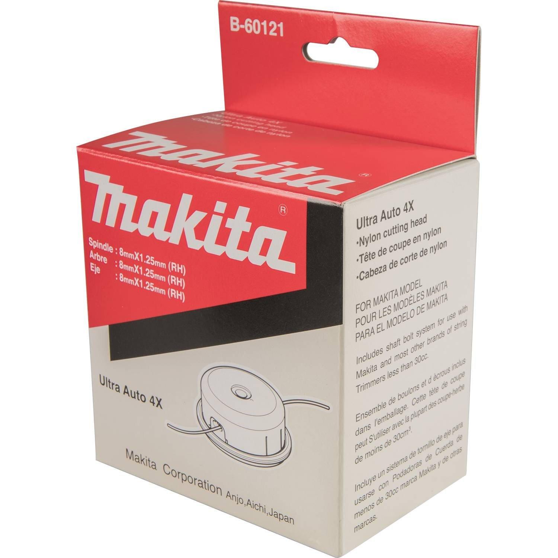 Makita B-03006 Ultra Auto Cabeza de corte de nailon – Multicolor