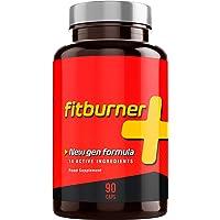 Fitburner+ | Quemagrasas Potente y Natural | Pastillas para Adelgazar Rápido | Supresor de Apetito para