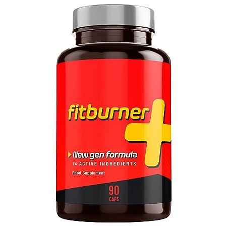 Fitburner+   Kraftvolle Formel mit 14 Qualitätszutaten   Für Frauen und Männer   90 pflanzliche Kapseln