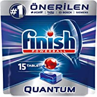 Finish Quantum 15 Tablet Bulaşık Makinesi Deterjanı