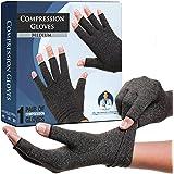 Dr. Frederick's Original Arthritis Gloves for Women & Men - Compression for Arthritis Pain Relief - Medium