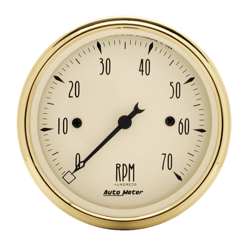 Auto Meter 1595 Golden Oldies Electric Tachometer by Auto Meter