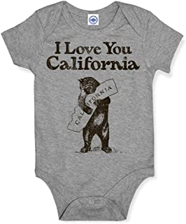 product image for Hank Player U.S.A. I Love You California Baby Onesie