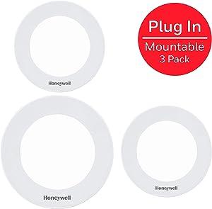 Honeywell UltraPro Linkable Recessed Puck Lights, 3 Pucks, LED Puck, 150 Lumens, Warm White Light, Under Cabinet Lighting, Warm White, Kitchen, Counter, Indoor, 45744