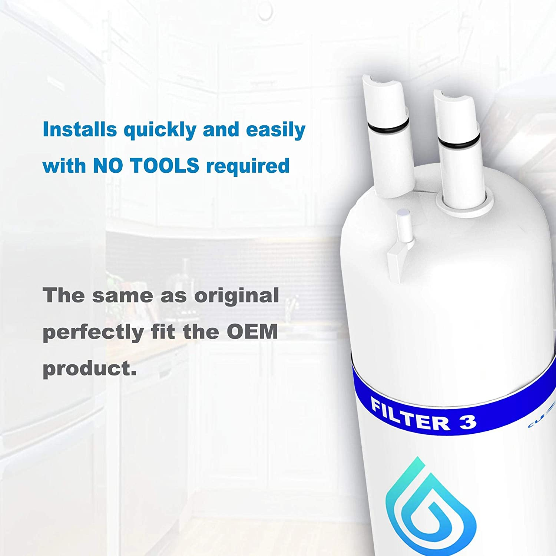 Refrigerator Water Filter 3PC
