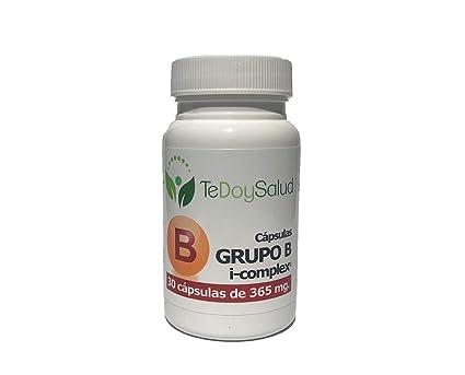 GRUPO B VITAMINAS BEPHIT - 30 cápsulas 365 mg