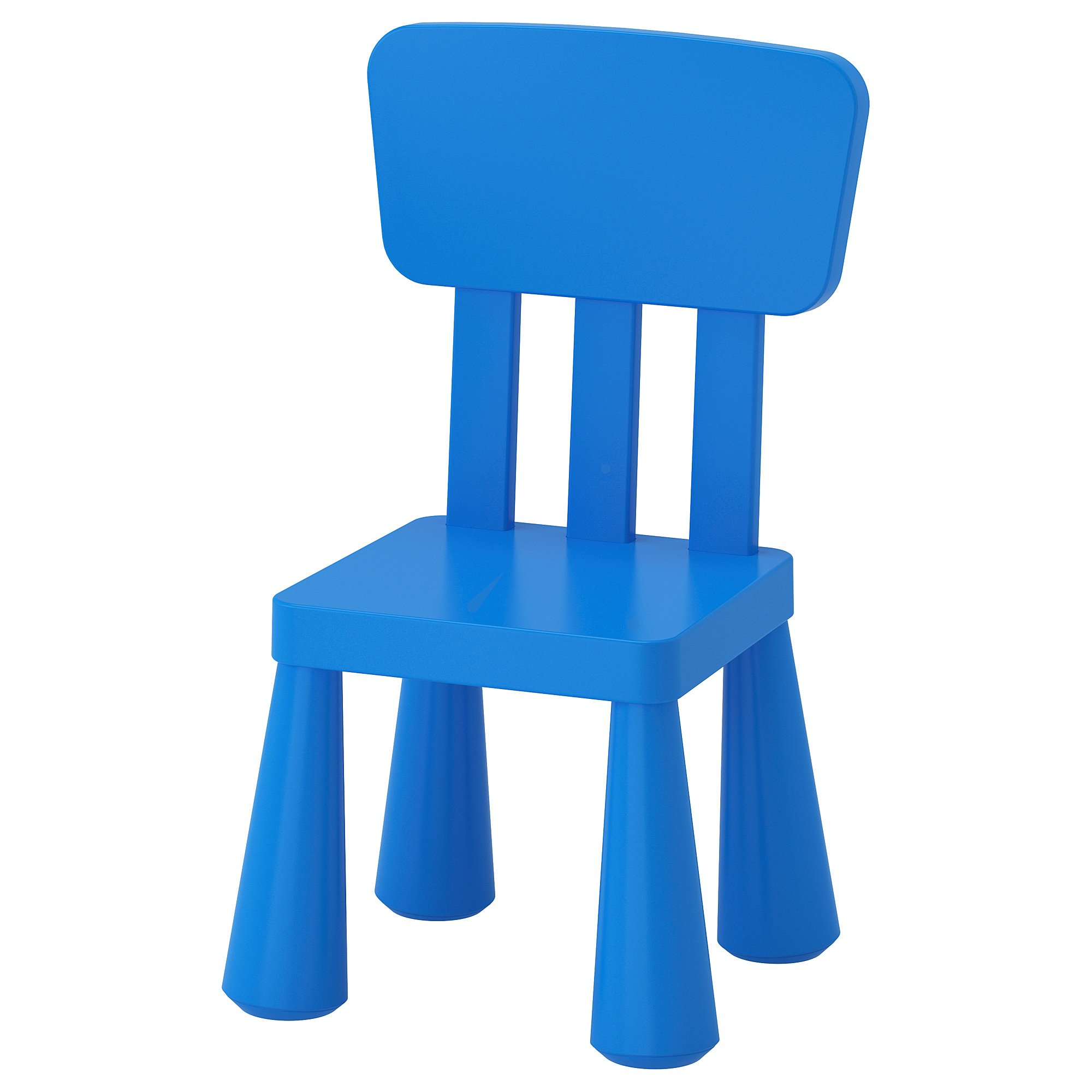 Ikea Mammut Kids Indoor / Outdoor Children's Chair, Blue Color - 2 Pack by IKEA (Image #3)