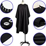 Coobi Professional Hair Salon Nylon Cape with Snap Closure 1 Pack