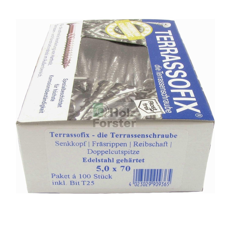 Re-Schraub Terrassofix 5x40 Terrassenschraube