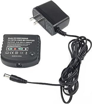 Amazon.com: Cargador de batería de 96 V-18 V para Black ...