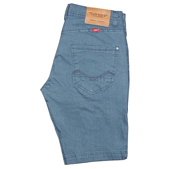 Bestpreis weltweite Auswahl an Verkaufsförderung Hero By John Medoox Men's Plain Jeans Blue Schwarz (6999) 40 ...
