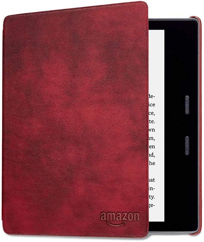 Funda de cuero para Kindle Oasis , budeos— únicamente compatible con el modelo de la 9.ª generación (modeli de 2017) y 10.ª generación (modelo de 2019)