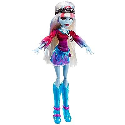 Monster High - Muñeca Music Festival, Abbey Bominable (Mattel Y7695): Juguetes y juegos