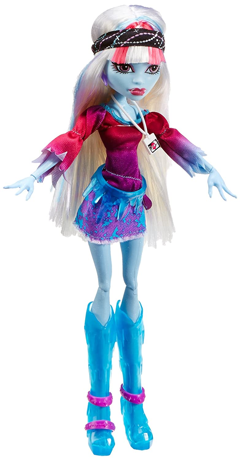 amazoncom monster high music festival abbey bominable doll toys games
