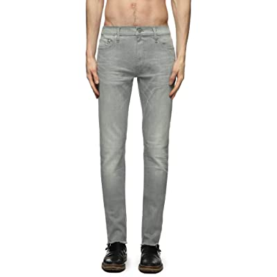 BLK DNM Slim Straight Fit Jeans (MED Gray, 30X32) at Men's Clothing store