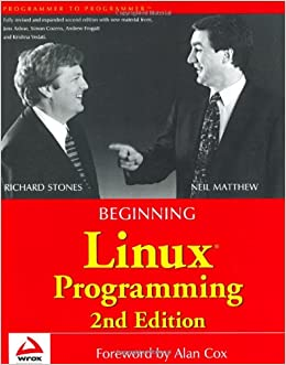 Book Beginning Linux Programming (Programmer to Programmer)