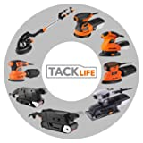 TACKLIFE Classic Mouse Detail Sander with 12Pcs