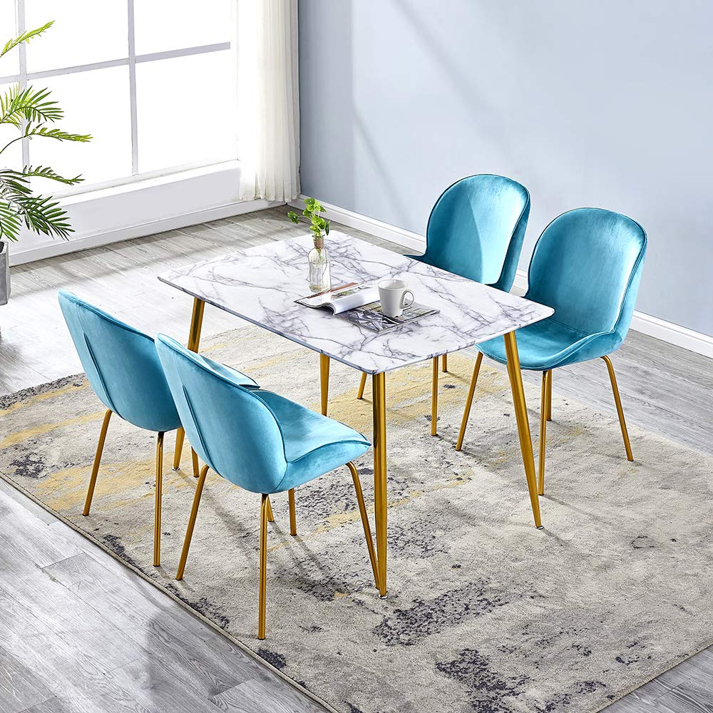 China Dining Table Sets Glass Dining Table 6 Chair Modern Stylish
