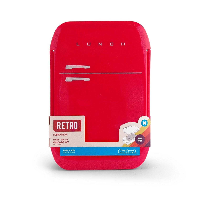 MUSTARD Tartera, Rojo, 21 x 14.5 x 6cm: Amazon.es: Hogar