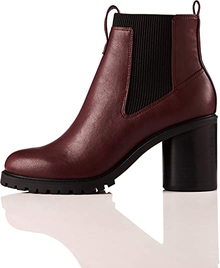 Amazon Brand find. Chunky Sole, Women's Chelsea Heeled Boots