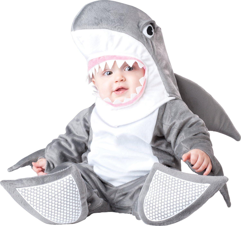 Disfraz Tiburón para bebé - Premium - De 6 a 12 meses: Amazon.es ...