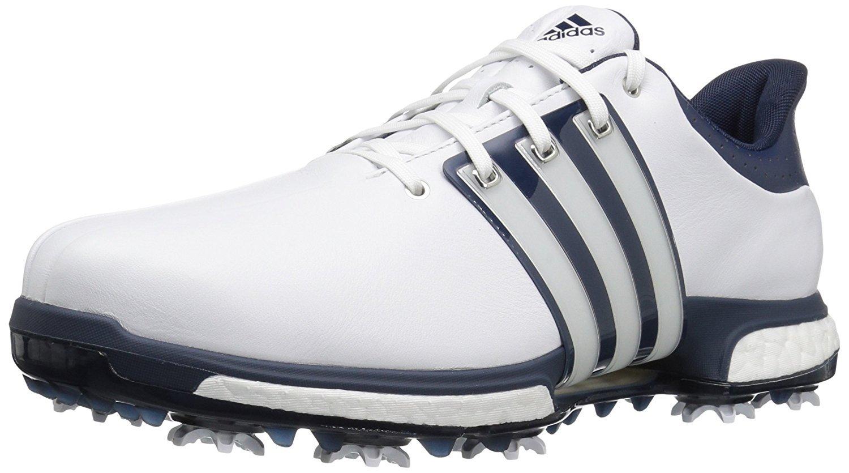 adidas Men's Tour 360 Boost Golf Shoe, WHITE, 9.5 M US by adidas