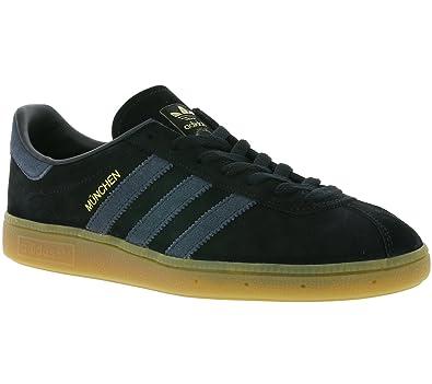Sneaker Echtleder Schuhe Adidas Herren Bb5295 München Schwarz Originals Turnschuhe tshrCQd