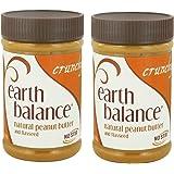 EARTH BALANCE - Peanut Butter-Crunchy/Flaxseed 16 Oz 2 EACH