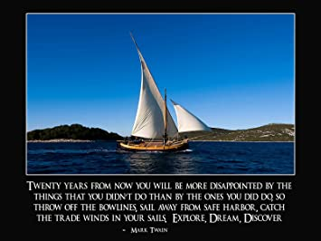Amazon.com: Motivational Posters Inspirational Posters Sailing ...