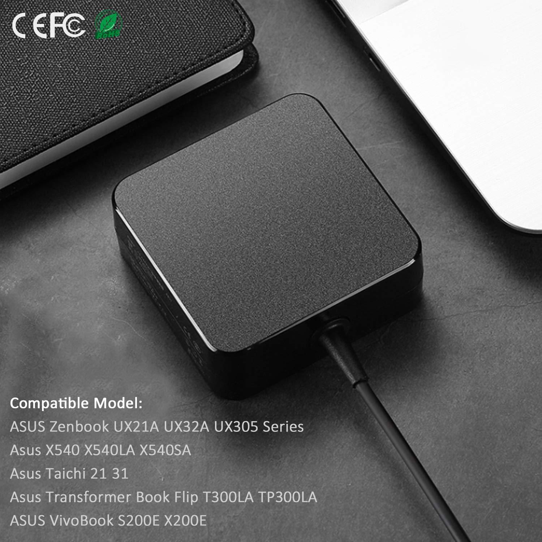 Amazon.com: SOLICE 19V 2.37A 45W Cargador de corriente CA ...