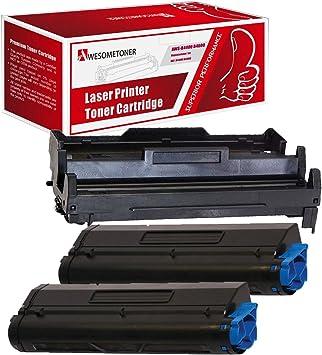 2 x Toner Reset Chips For Okidata B4600 B4400 OKI B4550 OKI B4500 43502001