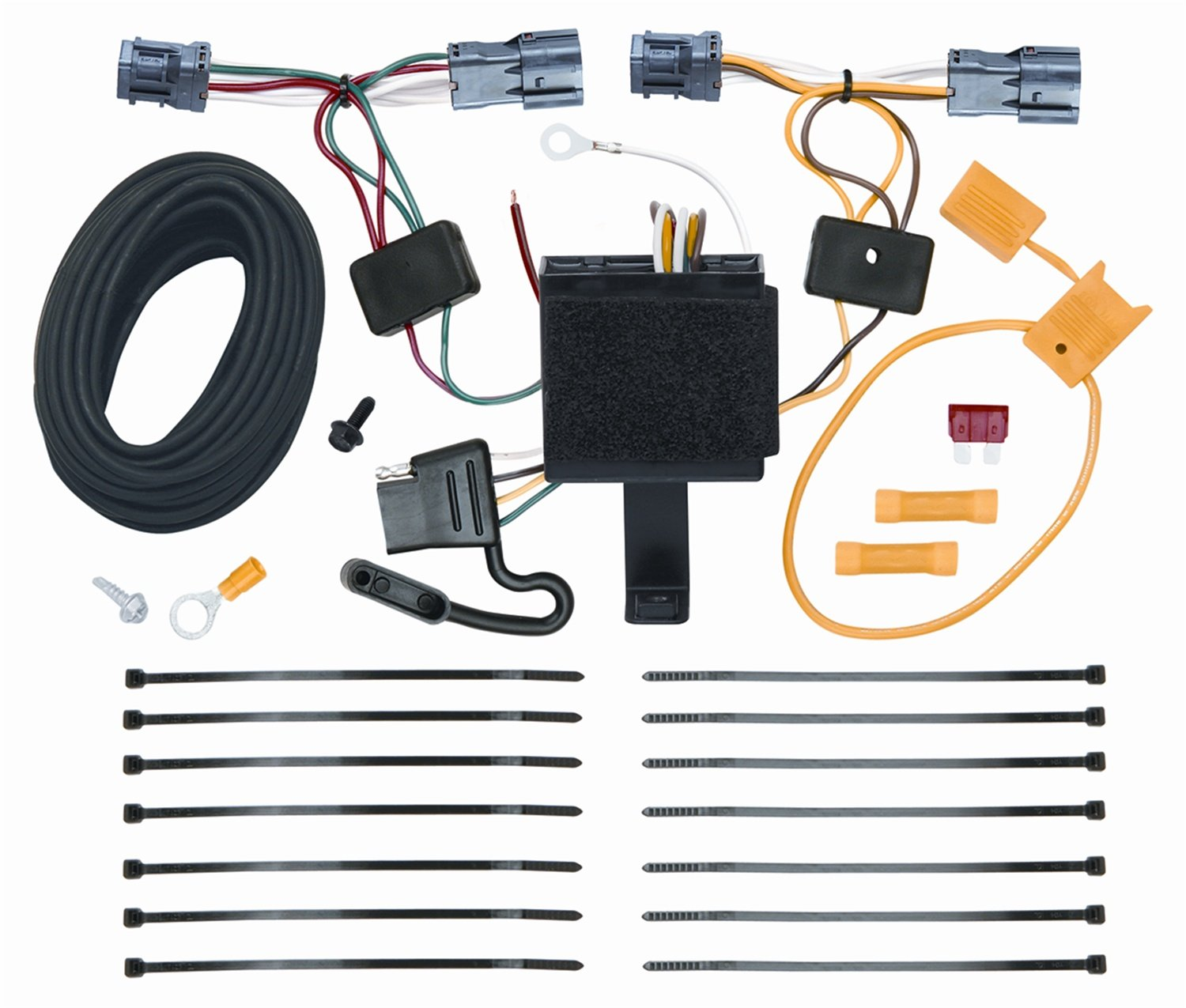 Vehicle to Trailer Wiring Wire Harness Lights Connector For Kia Sorento LX  EX, Receivers - Amazon Canada