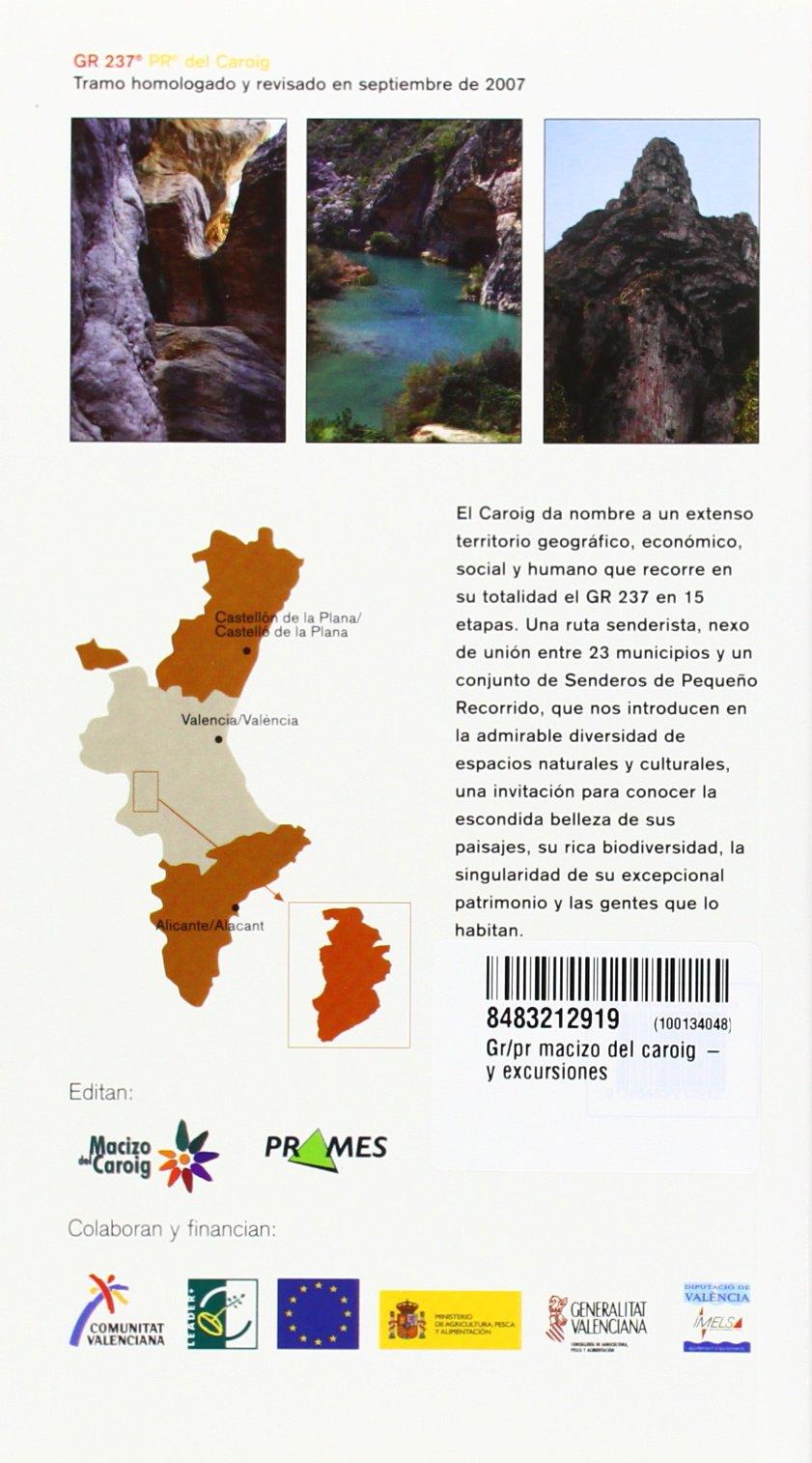Macizo Del Caroig -prames (Paseos Y Excursiones): Amazon.es ...