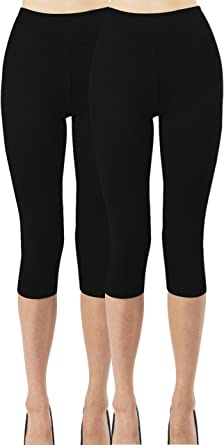 iLoveSIA Womens 2PACK Yoga Leggings Athletic Pants with Pocket
