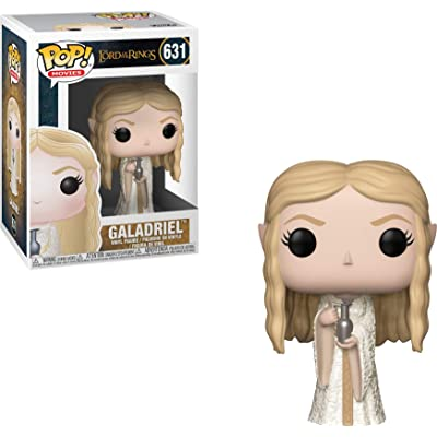 Funko Pop Movies: Lord of The Rings - Galadriel Collectible Figure, Multicolor: Toys & Games
