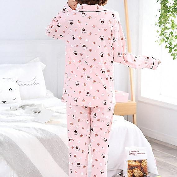 Cardigan Pajamas Suit Pyjamas Women Sleepwear Warm Pajamas Womens Pajamas Home Suit Pyjama Femme at Amazon Womens Clothing store: