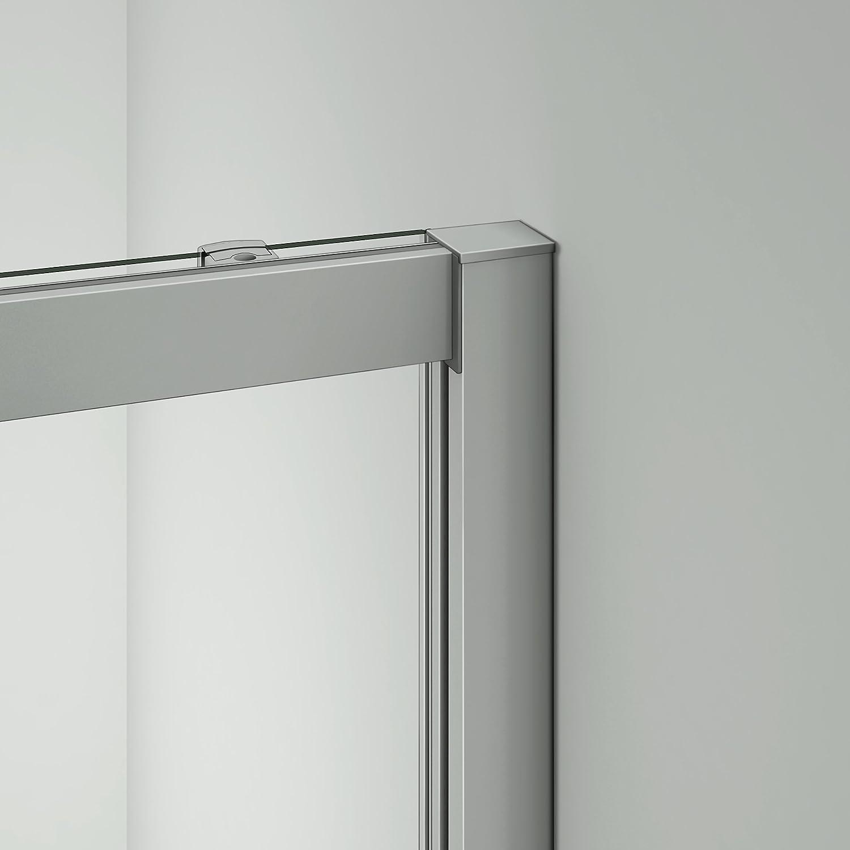 Mamparas de Ducha Corrediza cristal templado 5mm 130x185cm
