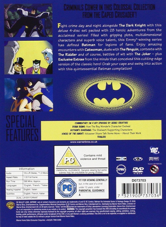Batman - The Animated Series: Volume 2 4 Dvd Edizione: Regno ...