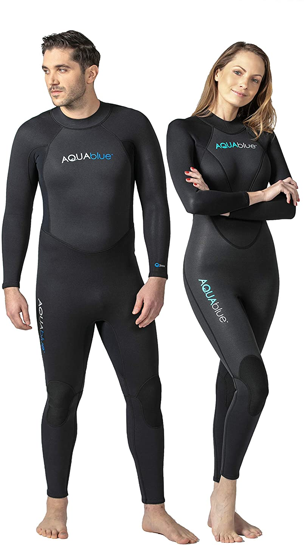 Men Wetsuit Stretch 3MM Neoprene Full Body Swim Surf Snorkeling Diving Wet Suit