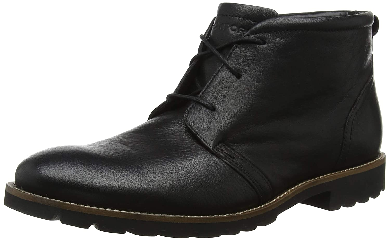 TALLA 40.5 EU. Rockport Modern Break Chukka Black, Botas Hombre