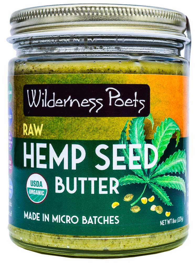 Hemp Seed Butter, Wilderness Poets Image