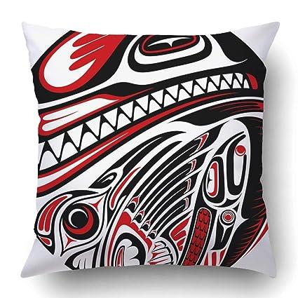 792cc2db6 Amazon.com: Custom Black Indian Haida Style Tattoo Design Created ...