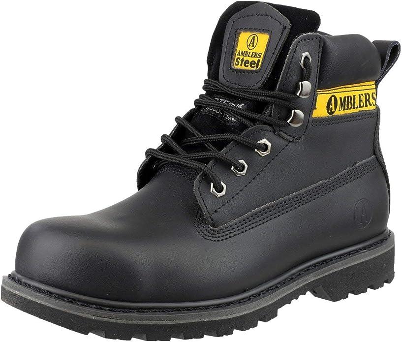 Amblers Safety Black Combat Hi-Leg Waterproof Metal Free Boots
